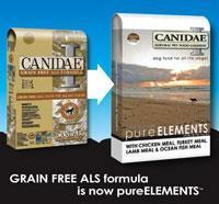 China CANIDAE pure elements dog food wholesale