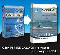 China CANIDAE pure sea dog food wholesale