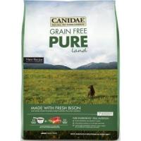 China CANIDAE grain free pure land bison and lamb dog food wholesale