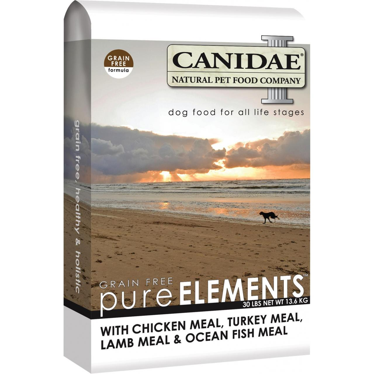 China CANIDAE grain free: pure elements dog food wholesale