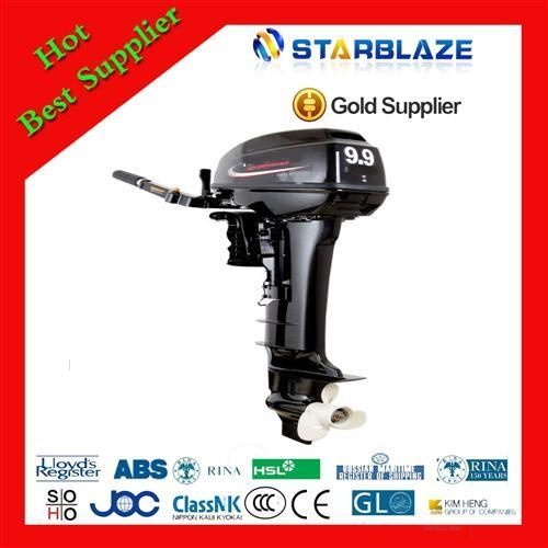 China 9.9hp Chongqing 4 stroke Small Outboard Motors