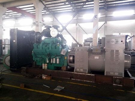 Quality 1500kw water cooled marine diesel generating set for sale