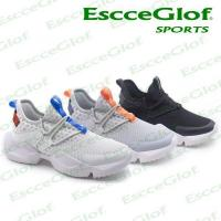 MEN SNEAKER EscceGlof 18E12G004 Black Running Shoes