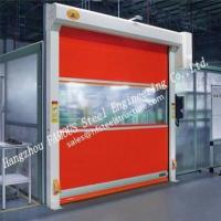 China Intelligent Automatic High Speed Fabric Doors Flexible Industrial PVC Rolling Door For Sale wholesale