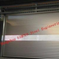 China High Speed Full-View Metal Door With Polycarbonate Panels High Speed Aluminum Doors wholesale