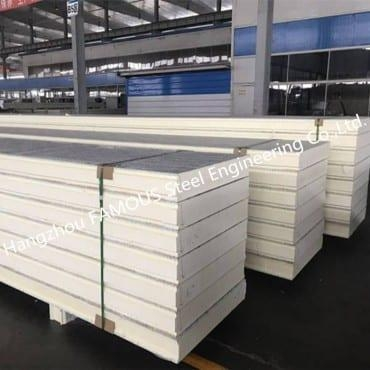 Quality Stainless Steel Composite Board Fire-Proof Resistance PIR Sandwich Panel Factory for sale