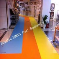 China Colorful Personal Design Resilient Vinyl Flooring Roll for Commercial Usage wholesale