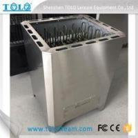 China 15KW 316 Steel Large Power Electric Sauna Stove Outdoor Sauna Square wholesale