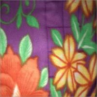 China Floral Print Polar Blanket wholesale