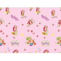 Printing Table cloth/Tabl product:Pink Strawberry Girl