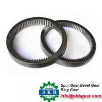 China excavator external geared slewing ring bearing internal outer gear slewing ring wholesale