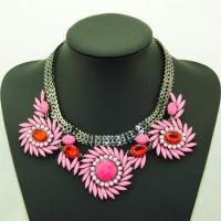 hawaii flower necklace necklace with magnetic clasp