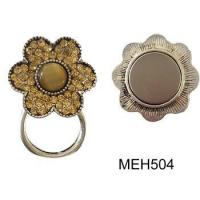 Fashion flower jewelry alloy brooch magnet eyeglass hanger