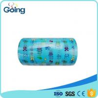 China Printed Design Disposable Raw Materials Of Baby Diaper PP Frontal Tape wholesale