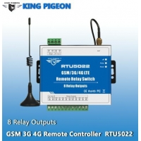 China GSM 3G 4G SMS Remote Controller(8 Relay Outputs) wholesale