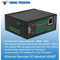China Ethernet Remote IO Module(8DIN+8AIN+8DO,High speed pulse counter,pulse output) wholesale