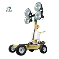 China Trolley Metal Halide Light Tower wholesale