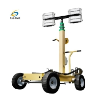 China Trolley LED Light Tower wholesale