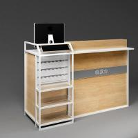 China Cosmetic store display furniture counter for mall cosmetic kiosk wholesale