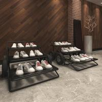 modern special design shoe store interior design custom display furniture for shoe store