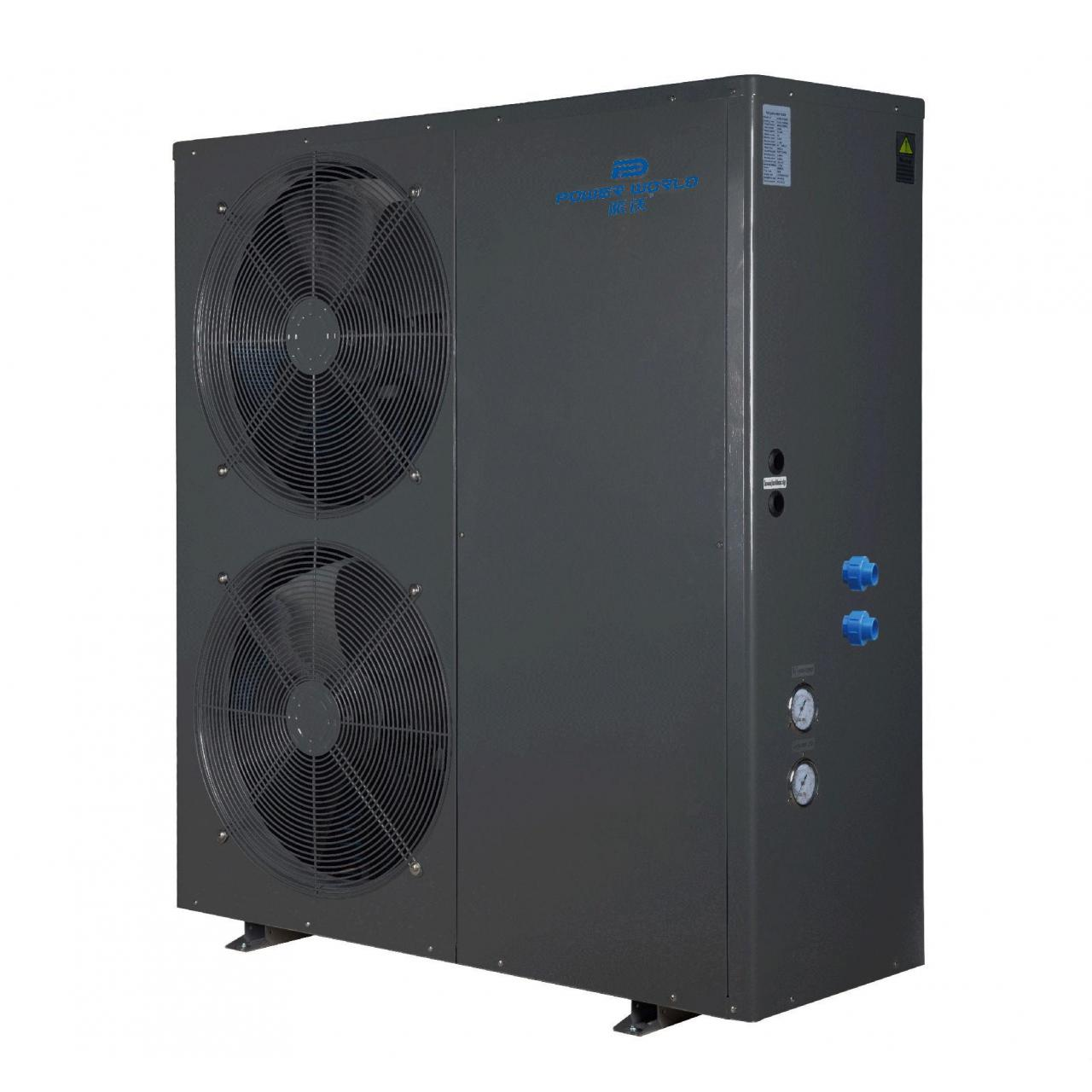 Buy cheap 11kw~19.3kw EVI low temperature air source heat pump from wholesalers