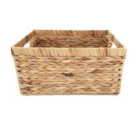 Buy cheap Storage Container, Natural Water Hyacinth Storage Rectangular Basket from wholesalers