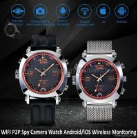 Buy cheap 8G WIFI P2P Spy Camera Recorder Watch iOS/Android Wireless Remote Monitoring DVR from wholesalers