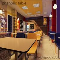 Buy cheap Good quality hpl laminate tables from wholesalers