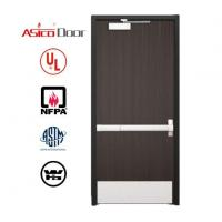 Buy cheap Wooden Fire Door with Panic Bar from wholesalers