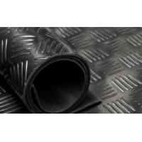 China ZF005 Checker Rubber Flooring on sale
