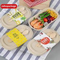 China Compostable Wheat Straw Pulp Food Box on sale